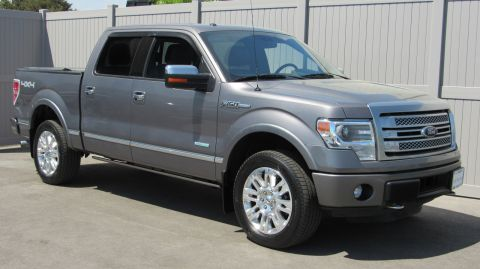 Pre-Owned 2014 Ford F-150 4WD SuperCrew 145 Platinum