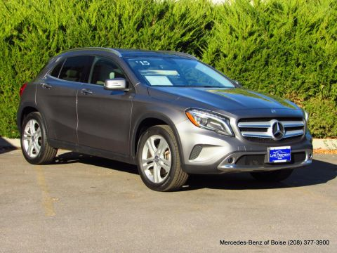 Certified Pre Owned 2017 Mercedes Benz Gla 4matic 4dr 250