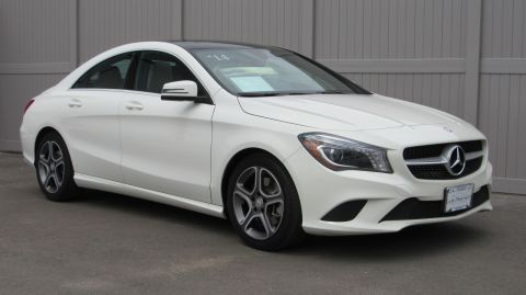 Certified Pre-Owned 2014 Mercedes-Benz CLA CLA250 Coupe
