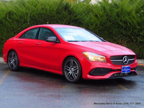 Pre-Owned 2018 Mercedes-Benz CLA CLA 250 4MATIC® Coupe