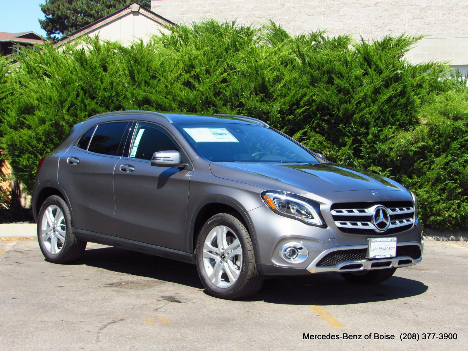 New 2018 Mercedes Benz Gla 250 4matic Suv