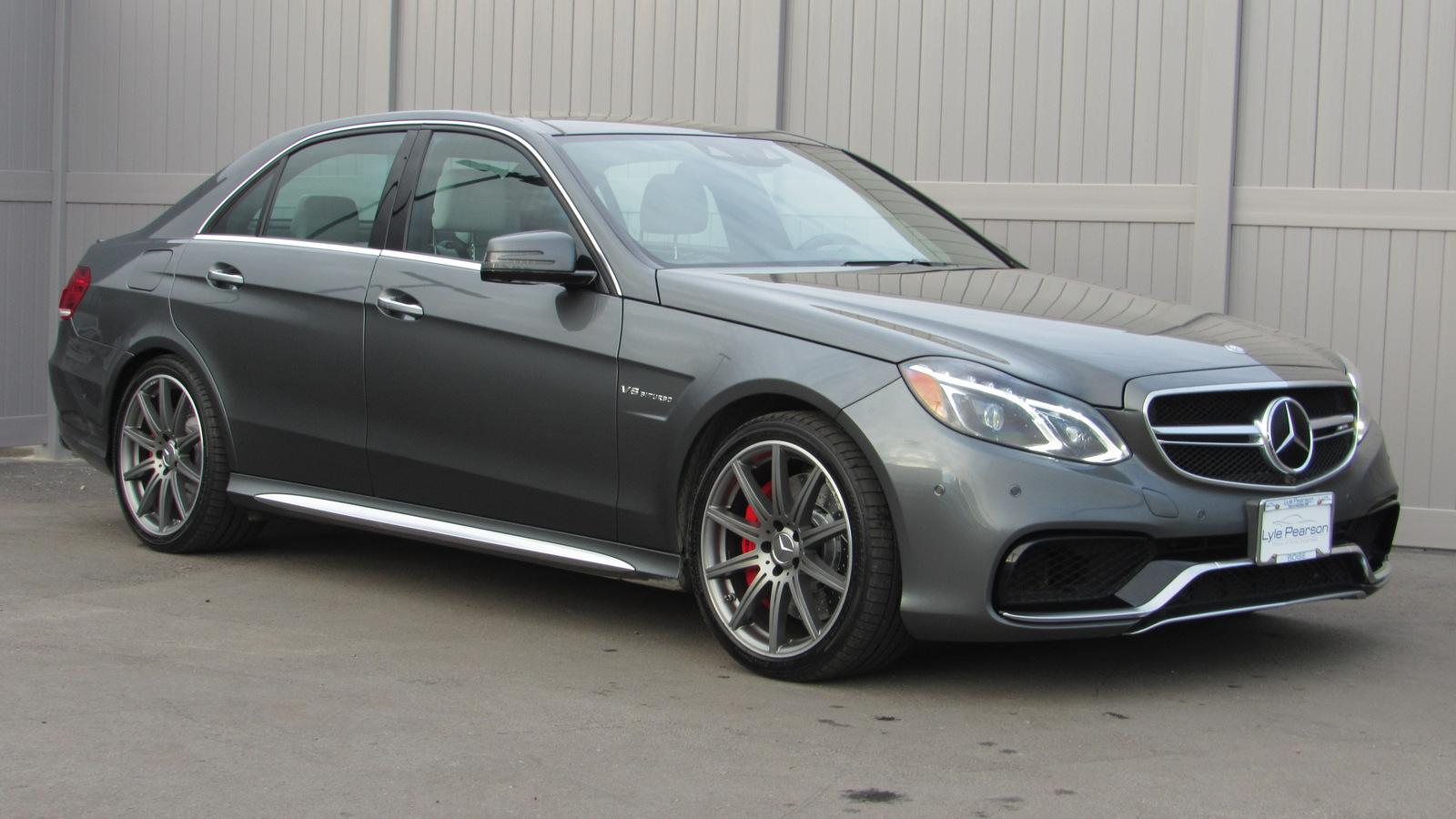 Certified Pre-Owned 2015 Mercedes-Benz E-Class 4dr Sdn E 63 AMG® S-Model 4MATIC®